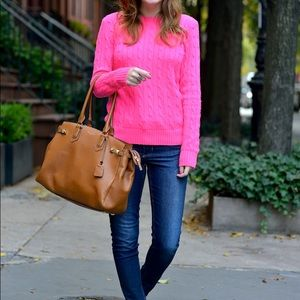 Ralph Lauren Sport Cable Knit Sweater Size Medium